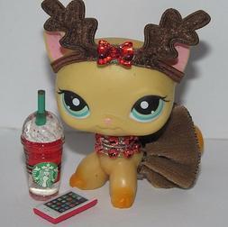 💞Littlest Pet Shop Clothes LPS Accessories Custom Reindee