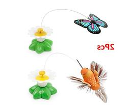 LLTrader Electric Pole Butterfly Birds Whirling Wiggler Spin