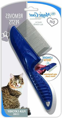 Four Paws Long Tooth Flea Catcher Comb Magic Coat Removes Pe