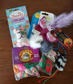 Lot of Cat Toys - Scent Locker Butterfly Sweet Baby Mice Mic