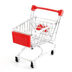 Yunt Lovely Parrot Bird Mini Supermarket Shopping Cart Toy K