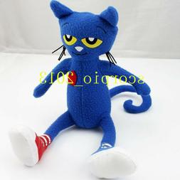 Lovely New Pete the Cat Soft Stuffed Plush Toy Doll 14 inche