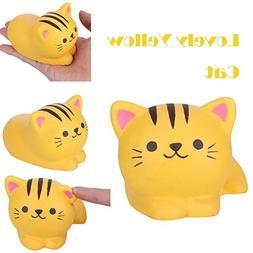 Dirance Lovely Yellow Cat Squishy Toys Jumbo Prime Cheap, Ka