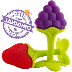Luxury Teething Toys for the Best Baby Teether Massage by Nu