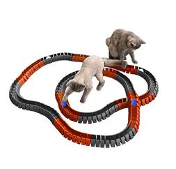 Magic Cat Track and Ball Toy Double Size for cats, kittens,