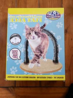 Matty's Pet Stop Self Cat Grooming Play Arch Scratch Pad Toy