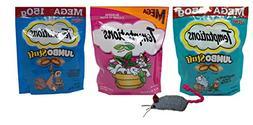 Temptations Mega Size Low Calorie Cat Treats 3 Flavor Variet