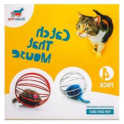 Ziweto Pets Megapack The Interactive Toy For Cats, 4 Cat Toy