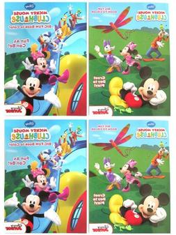 """Mickey Clubhouse  96 Pg Coloring & Activity Book """"Fun As Can"""