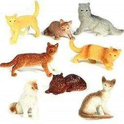 Mini Cat Figures Asst.