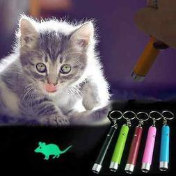 Mini Pet Cat Dog Toys LED Laser Pointer light Pen With Brigh