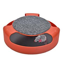 PAWZ Road Motion Cat Toys Interactive Kitten Mouse Training