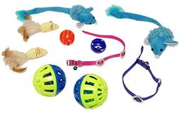 EMG Pet Emporium Mouse Toy Bundle PLUS Cats |  Blue Mouse Cr