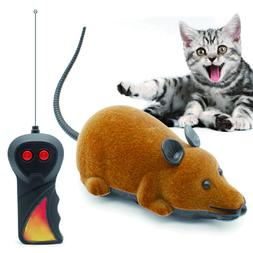 Mouse Toys Wireless RC Mice Cat Toys Remote Control False Mo