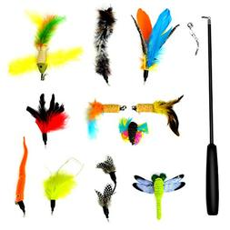 Kuorle Multi Piece Replacement Feathers Pack Plus Bonus Soft