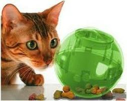 PETSAFE MULTI VET SLIMCAT CAT TOY BALL FEEDER SLIM CAT TOY -