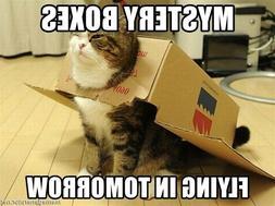 Mysteries Cat Grab bag treats, toys, foods,goodies Box Grab