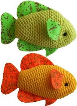 Imperial Cat Cat 'n Around Toys  Neon Fish Duo Catnip Toy