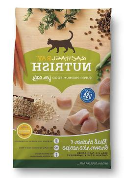 Rachael Ray Nutrish Natural Dry Cat Food-Real Chicken & Brow