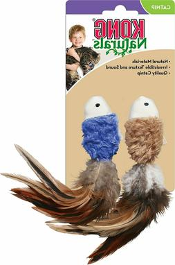 Kong® Naturals Catnip Mouse & Fish Cat Toy Free Shipping