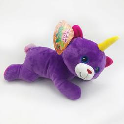 "NEW 12"" UNICORN Teddy Bear Cat Plush UNICORNIMALS Kellytoy S"