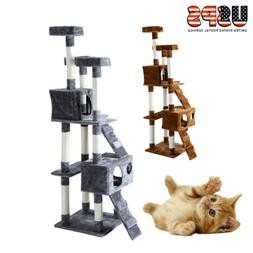 new 67 cat tree tower condo furniture