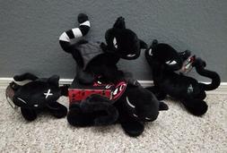 New Emily the Strange 8inch Stuffed plush toy doll Black Cat