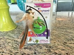 NEW! ~SMARTY KAT~ Electronic Motion Toy FEATHER WHIRL Wobble