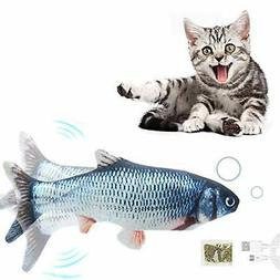 NEW Flippity Fish Realistic Cat Toy Electric Floppy Moving C