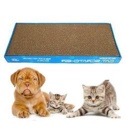 New Pet Cat Mat Scratcher Corrugated Board Scratch Pad Toy A