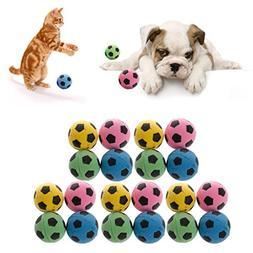 Fucung 20PCS non-noise cat EVA soft foam soccer dog cat scra
