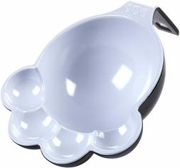 ORE Pet Black & White Two Tone Large Food Scoop, ST076