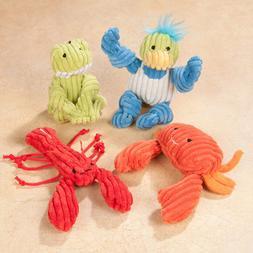 Hugglehounds Organic Cat Toys Asst: Duck, Frog, Lobster, Rac