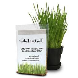 100% Organic Cat Grass Seed