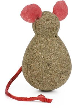 OUR PETS CORK NIP CATNIP COMPRESS MOUSE KITTEN CAT TOY NEW.