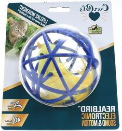 OurPets Ball of Feathery Fury Cat Toy