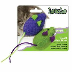 OurPets Bumpin and Groovin Catnip-Scented Cat Toy 2pc