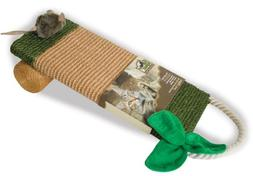 OurPets Play-N-Squeak Sisal Scratch It Cat Toy