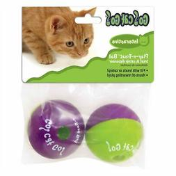 OurPets Play-N-Treat Twin Pack Cat Toy