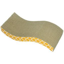 Our Pets The Wave Curved Catnip Cat Scratcher