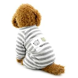 SMALLLEE_LUCKY_STORE Outfits Doggie Uniform Boy Pet Jumpsuit