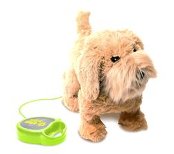 PawPals Kids Walking and Barking Pet Puppy Dog with Remote C