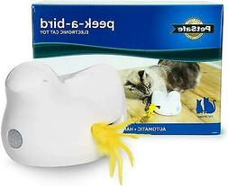 PetSafe Peek A Bird Electronic Cat Teaser Toy Automatic Moti