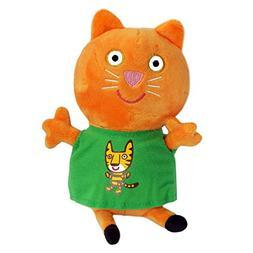 Rosman Peppa Pig Candy Cat Plush Stuffed Animals Toy Girls B
