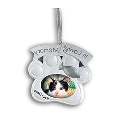 Fun Express Personalized Loving Memory Cat Pet Memorial Chri