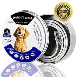 AISIGE Pest Control Collars, Waterproof Dog Anti Flea Collar
