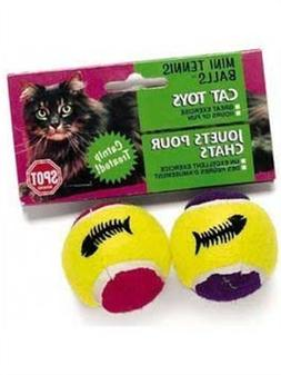 Ethical Pet - Spot Mini Tennis Ball With Catnip And Bell - 2