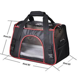 Pet Carrier, PYRUS Soft-Sided Kennel Cab Folding Soft Dog Cr