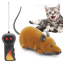 Pet Cat Dog Funny Electric RC Rat Mouse Wireless Remote Cont