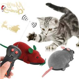 Pet Cat Dog Remote Control Toy Fake Mice Mouse Prank Rat Moc